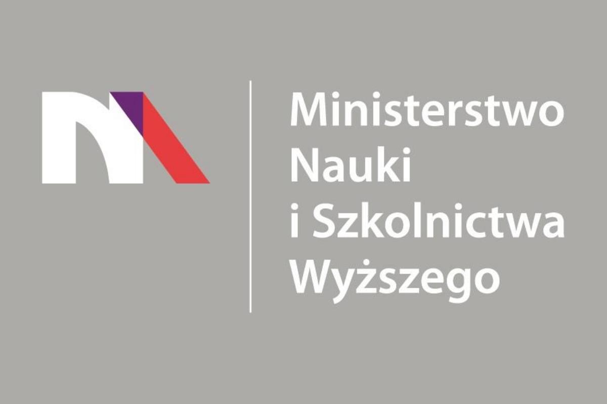 Oficjalny banner i logotyp Ministerwstwa Nauki i Szkolnictwa Wyższego