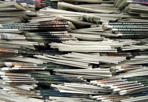 Stos gazet